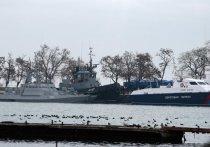 Зеленский обиделся на украинский МИД из-за задержанных под Крымом моряков
