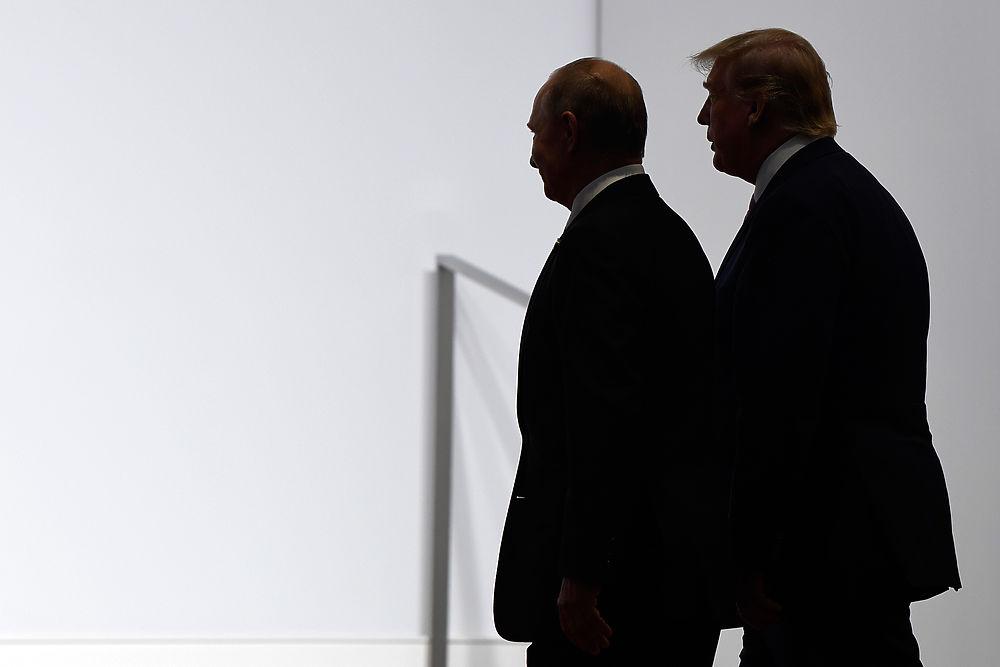 Путин сиял на встрече с Трампом: кадры из Осаки