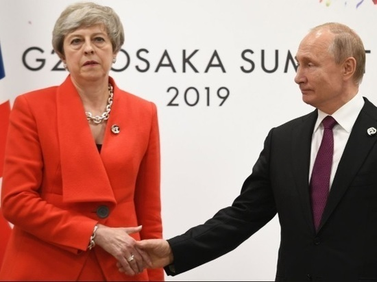 Мэй заявила Путину о причастности России к отравлению Скрипалей