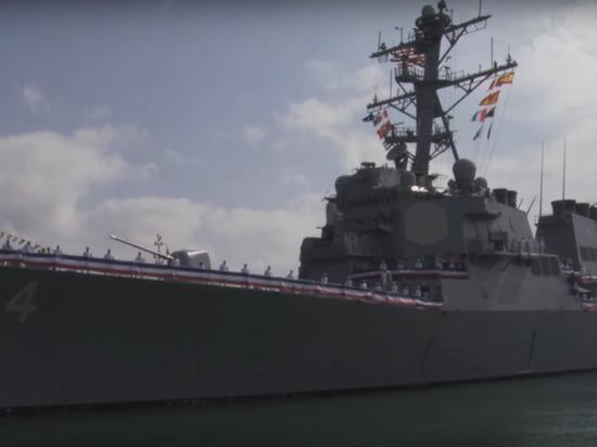Эсминец США с «томагавками» направился в Черное море