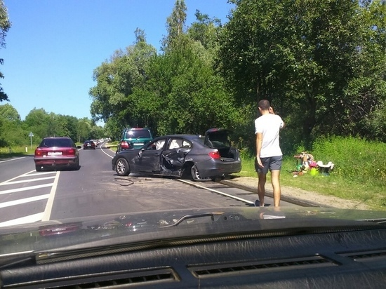 Под Калининградом в аварии пострадали люди