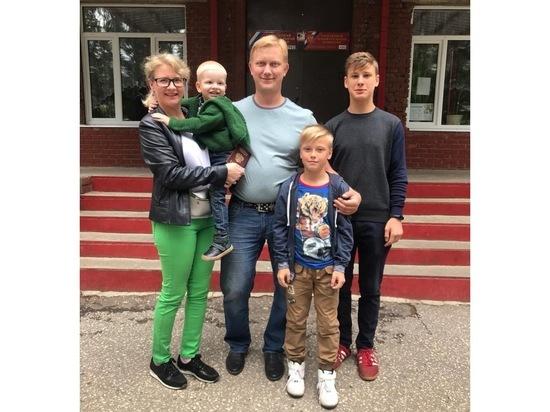 Многодетные семьи Серпухова участвуют в выборах Совет депутатов