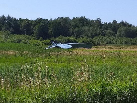 Очевидцы: «Под Гвардейском на крышу завалился самолет»