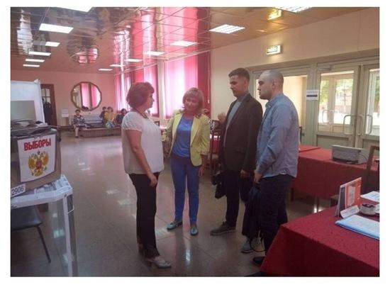 Представители общественной палаты оценили организацию выборного процесса в Серпухове