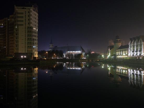 Ночью в Калининграде спасали упавшую в Преголю женщину