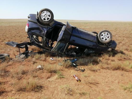 На дорогах Калмыкии погибло 7 человек, в том числе 2 ребенка