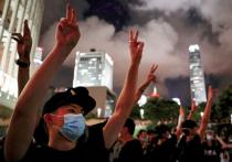 22-ю годовщину передачи Гонконга Китаю отметили бурно: оппозиционеры попытались взять штурмом здание местного заксобрания