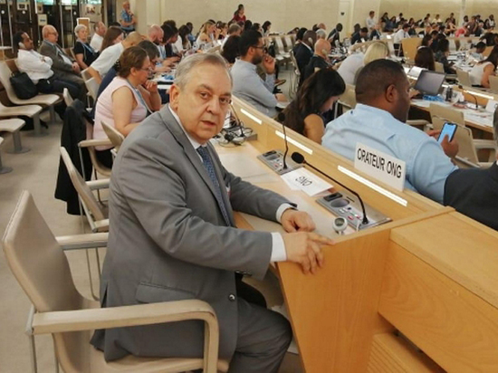 Георгий Мурадов рассказал о своем выступлении в Организации Объединенных Наций