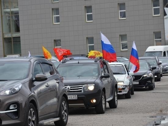 В Чебоксарах прошел Автопробег «Маршрут здоровья»