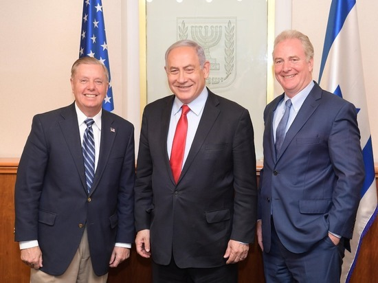 Премьер-министр Биньямин Нетаниягу встретился с сенаторами США