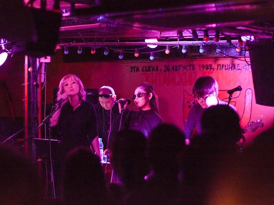 Калмыцкая группа исполнила электронную музыку в Перми