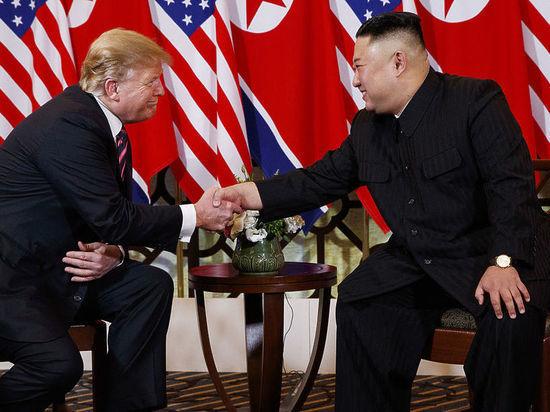Трамп признался, что ожидает новой встречи с Ким Чен Ыном