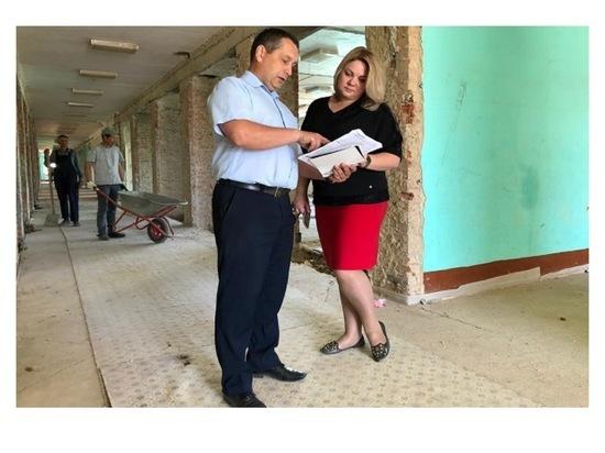 В двух объектах образования Серпухова продолжается ремонт