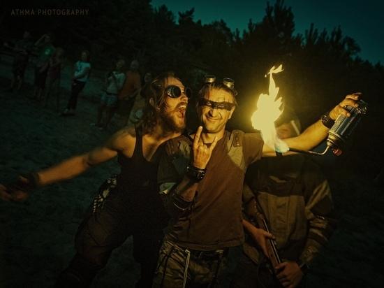 Постапокалиптический фестиваль «Ржавый дракон» перенесли из-за плохой погоды