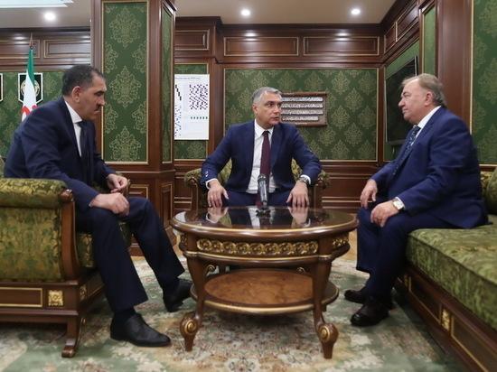 Полпред Президента РФ в СКФО представил врио главы Ингушетии