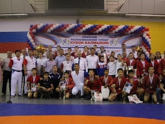 Калмыцкая сборная по самбо заняла первое место