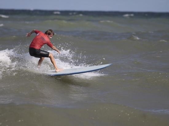 В Зеленоградске стартовал чемпионат России по сёрфингу