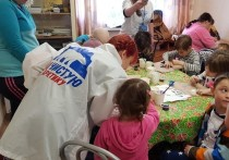 В детской больнице Мурманска состоялось эколого-творческая акция