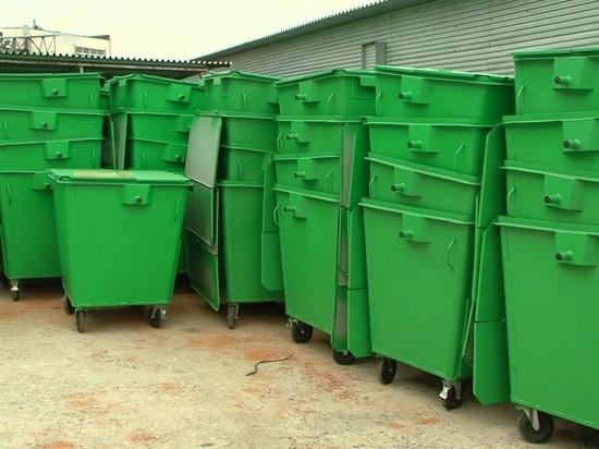Калининградская область потратит 30 млн рублей на покупку мусорных контейнеров