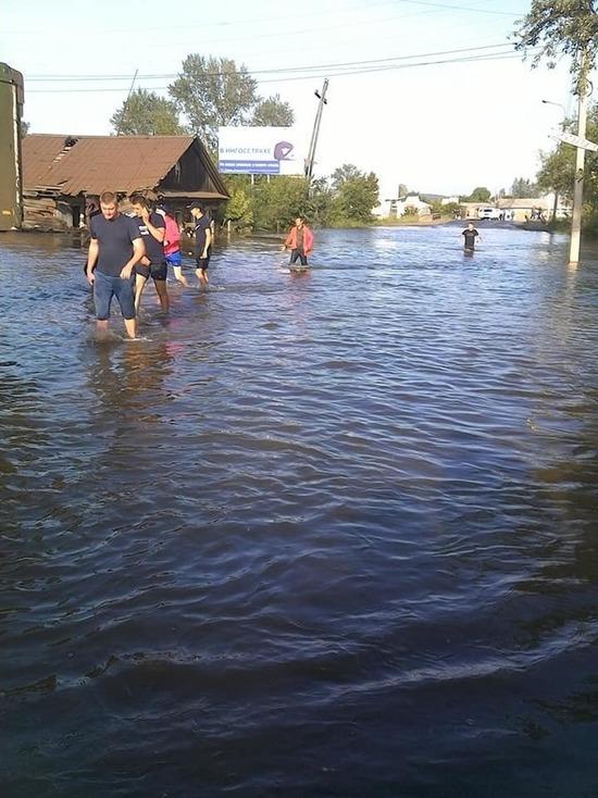 Причиной затопления в Иркутской области стало редкое сочетание природных факторов