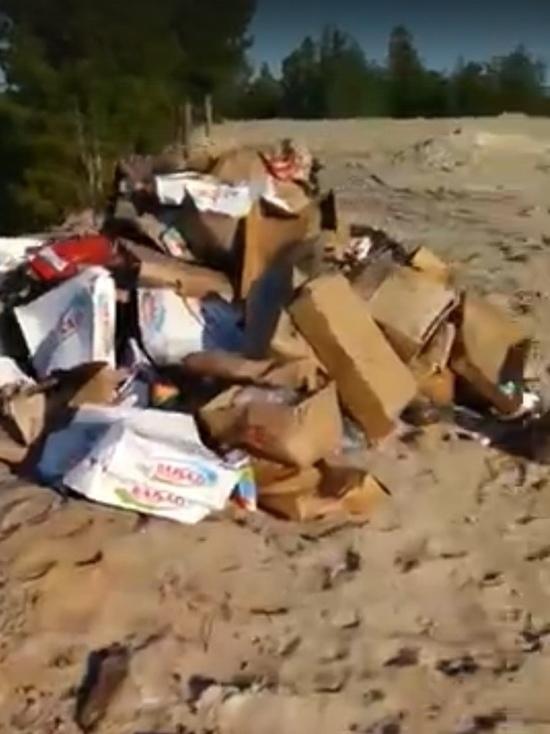 Житель Нового Уренгоя сообщил о стихийной свалке