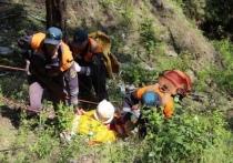 На стихийной тропе на Байкале спасли туриста из Германии