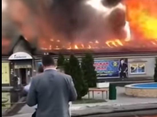 На пожар в Энгельсе съехалась вся саратовская знать