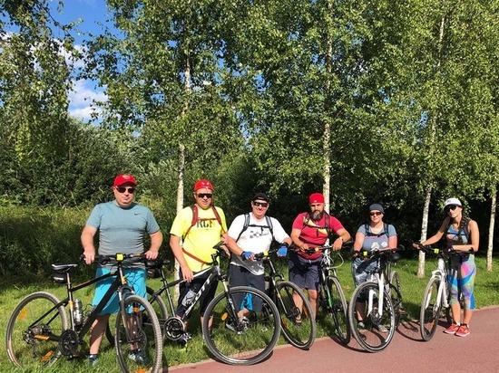 Министры Калининградской области прокатились по польским велодорожкам