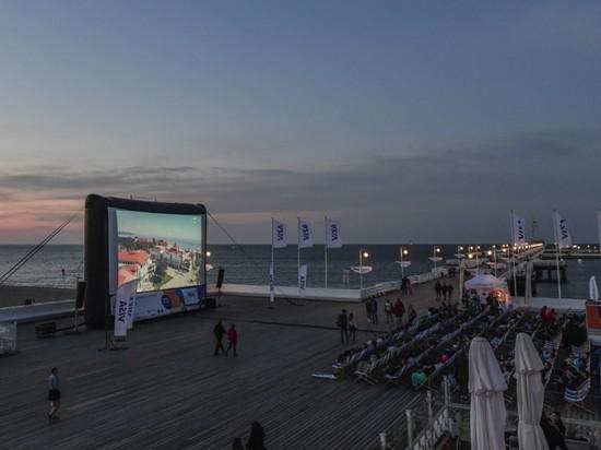 В Польше открылся бесплатный летний кинотеатр