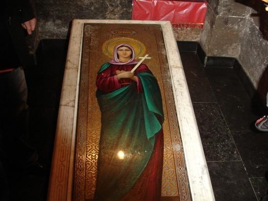 В калмыцком селе обнаружены мощи армянской святой мученицы
