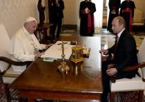 Путин нанесет однодневный официальный визит в Ватикан
