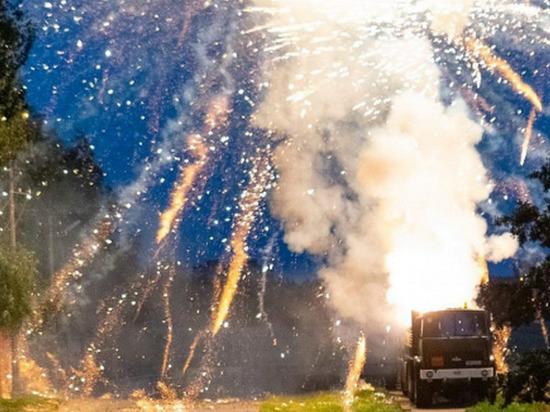 Поделу овзрывах фейерверков задержаны иностранцы 21