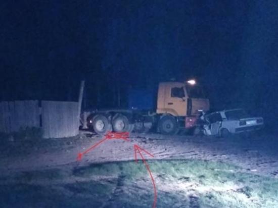 В Бурятии водитель «Жигулей» погиб после столкновения с «Камазом»