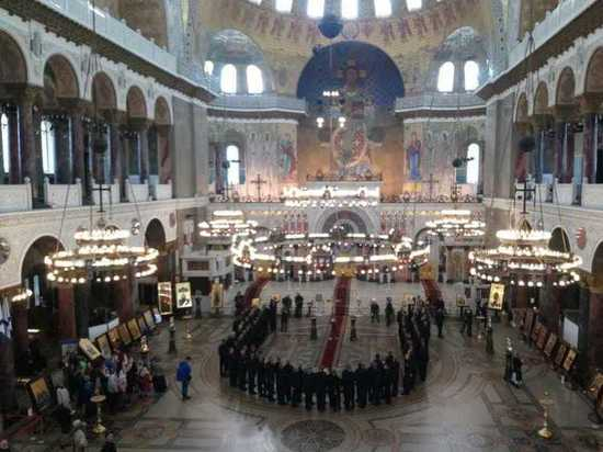 В Морском соборе Кронштадта прошла панихида по погибшим подводникам