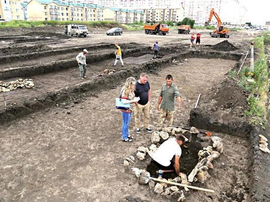 Строительство проспекта в Ставрополе приостановили археологи