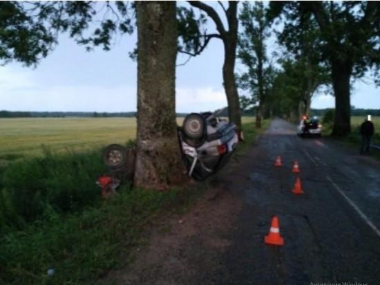 В Правдинске насмерть разбился водитель «Фольксвагена»