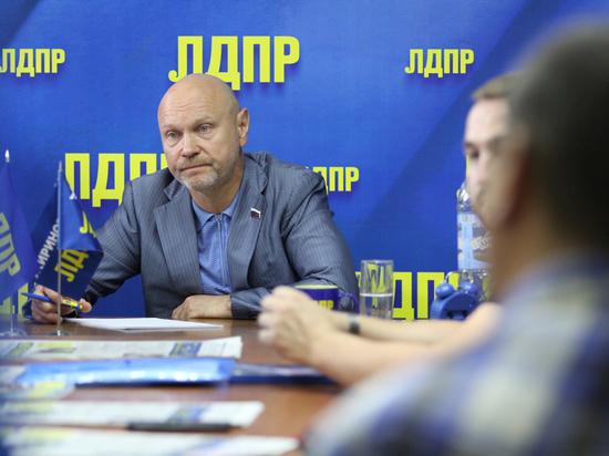 Сергей Катасонов встретился с координаторами и активистами ЛДПР