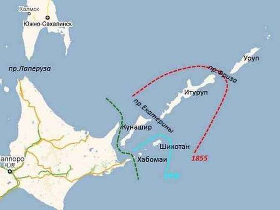 РФ выразила протест Японии из-за обозначения Курил