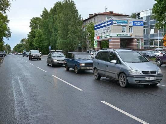 В Вологде завершили ремонт улицы Карла Маркса