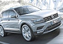 Тест-драйв популярного кроссовера VW Tiguan