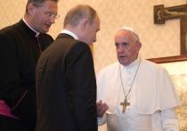 Папа Франциск попросил Путина молиться за него
