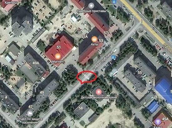 В Ноябрьске уберут один пешеходный переход