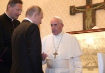 Путин рассказал о беседе с папой римским о Достоевском