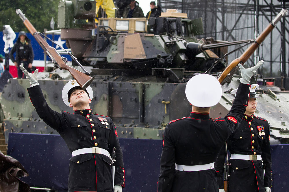 В День Независимости США мир увидел жалкий парад в Вашингтоне