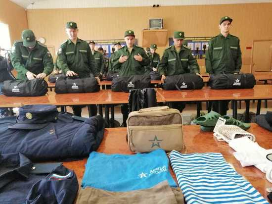 В Москве проводили на военную службу инженеров и программистов