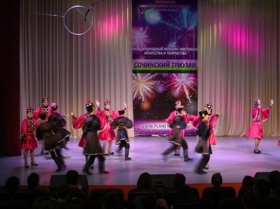 Детский ансамбль «Байн тег» из Калмыкии стал лучшим в Сочи