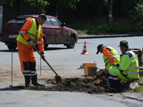 Ремонтные работы на улице Фрунзе в Иванове постоянно инспектируют