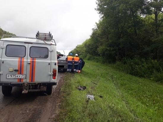 Под Тулой в ДТП с пассажирским автобусом есть пострадавший