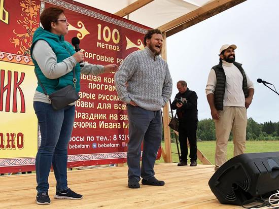 Олег Сирота приехал к псковскому вечному узбеку закладывать сыроварню