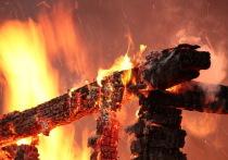 В Калининграде сгорела сауна